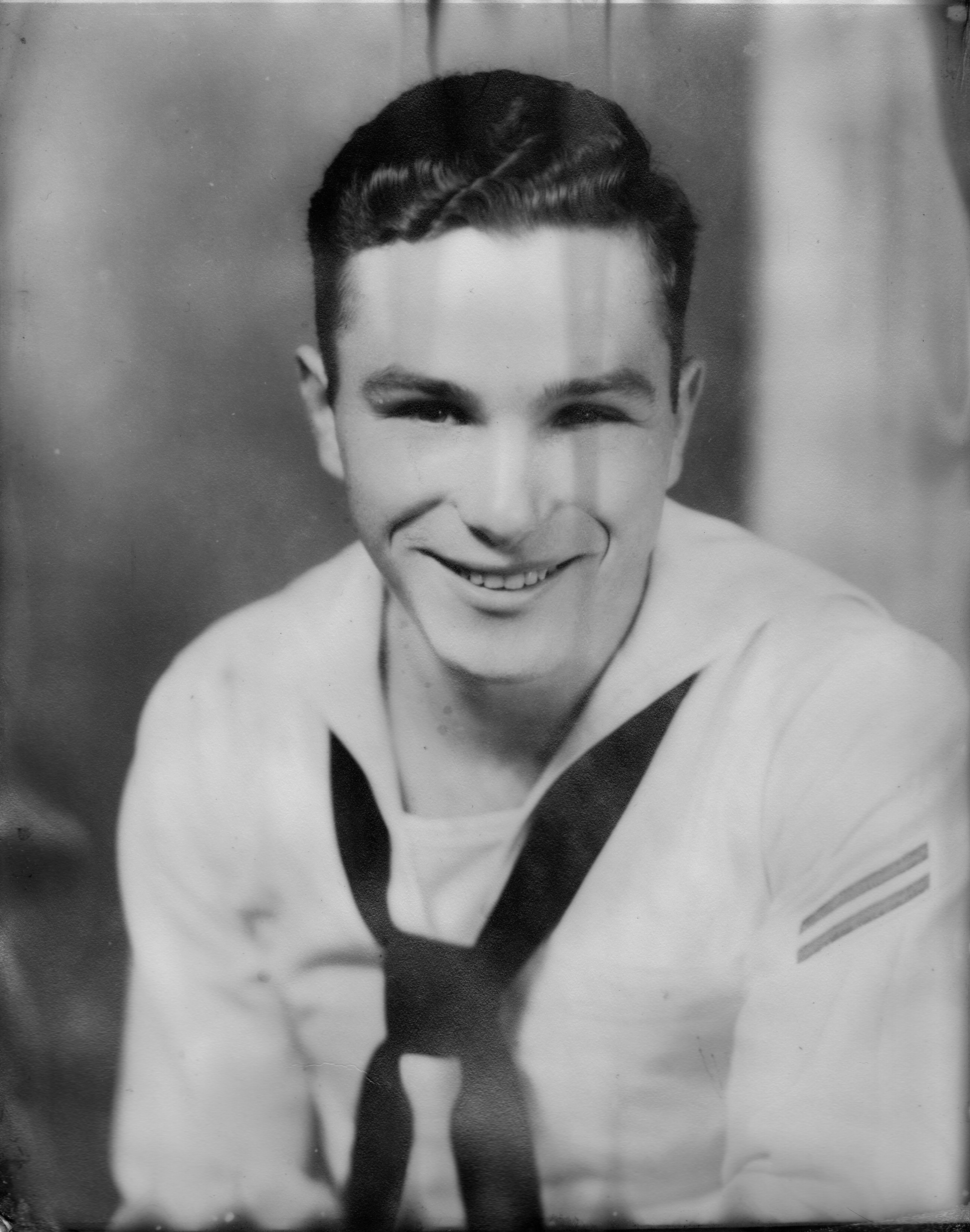 "William ""Bill"" Bass, U.S. Navy, 1949(?) - 1952, BT3 aboard the aircraft carrier USS Midway during the early Cold War and promoted to Chief Petty Officer, a post he declined so he could return to the family farm in Virginia."