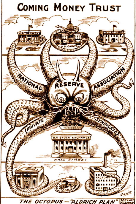 Cartoon.02_Federal_Reserve_1912_Coming_Money_Trust