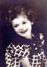 Little Dottie Wottie Totsie, age 2 or 3, Virginia, 1933.