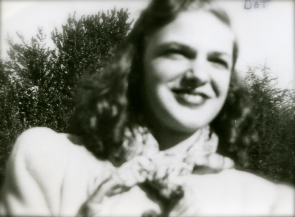 Dot Ussery, age 16 or 17, Blacksburg, VA. 1948.