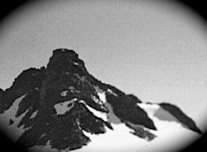 Iowa Peak by Indian Pass, 16 July 1986. Foto by William Bass.