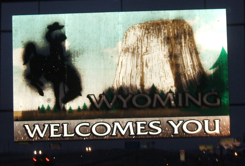 Wyoming at Last!
