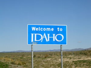 Where? Idaho!
