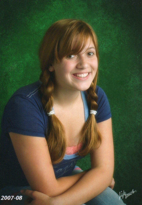 Morgan, age 13, Eighth Grade, Salmon Bay Middle (Alternative) School, Fall of 2007.