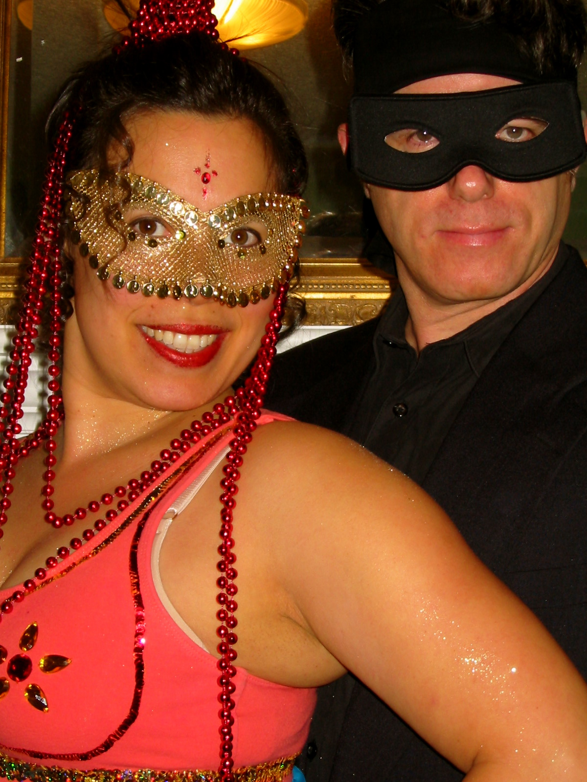 Kristina & William @ Mardi Gras, CTC Seattle, Sunday 6 February 2005.