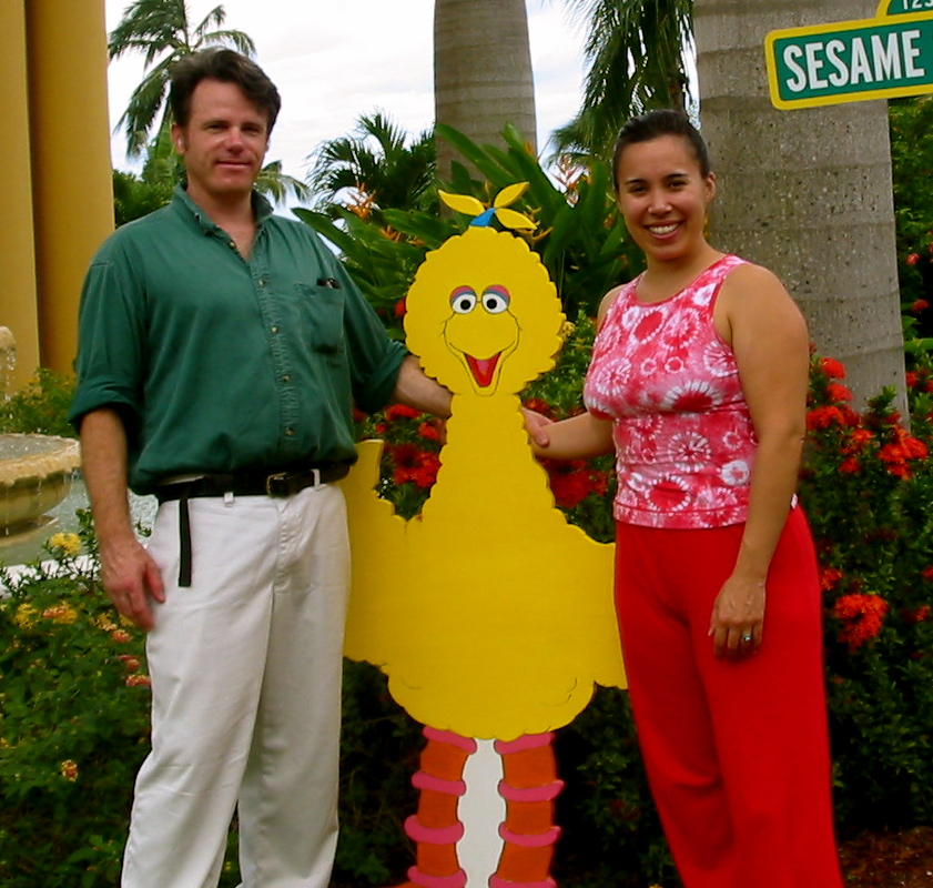 William & Kristina at Ocho Rios, Jamaica, November 2004.