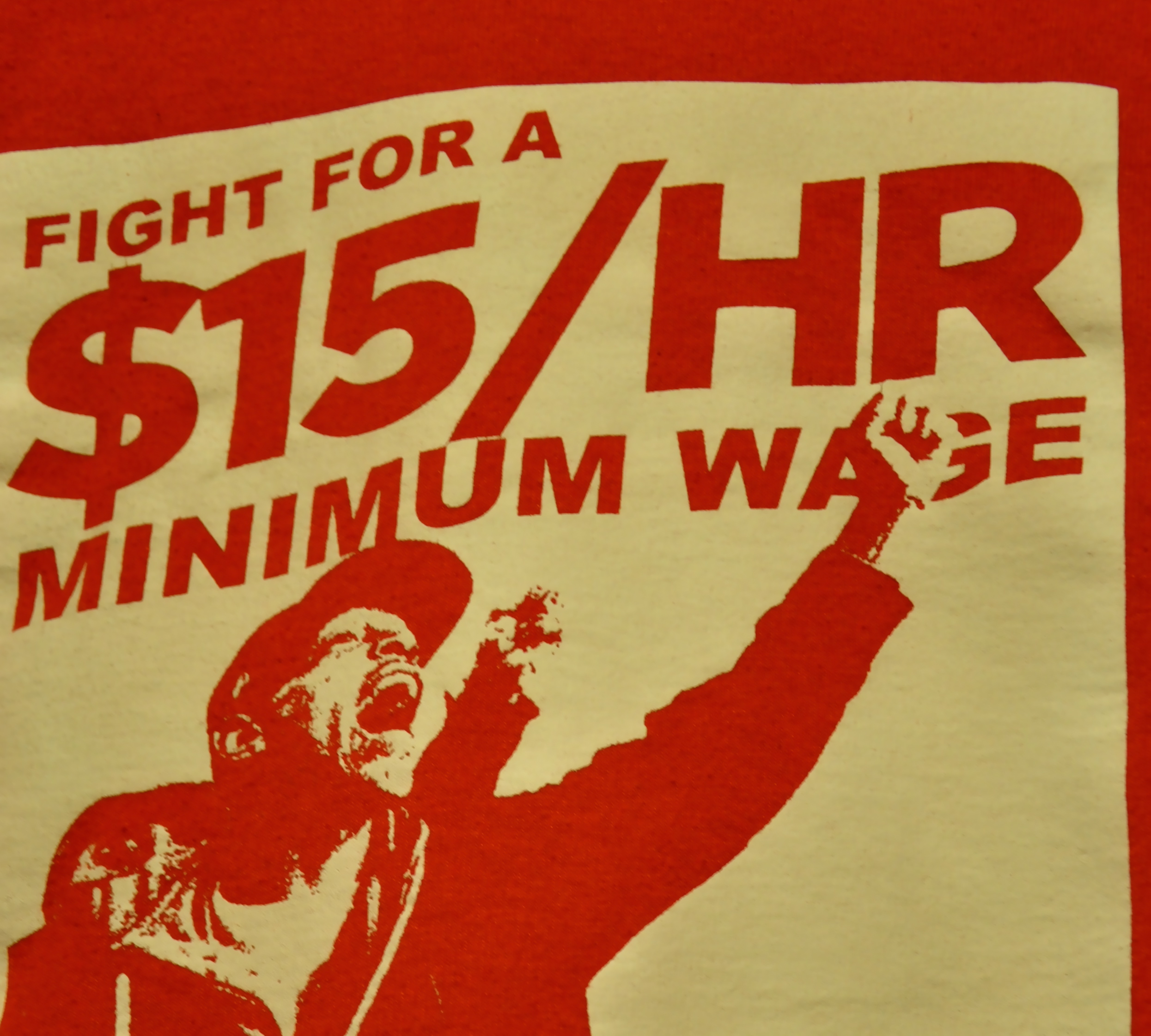 Fight for 15, Fight for the Working Class, Fight for Justice, Fight for Freedom. Solidarity!