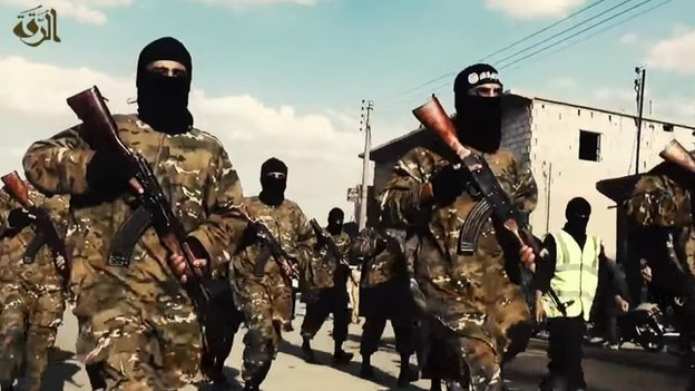 "New Islamic State recruits from around the world. More and more ""terrorists"" spring up against the West and its autocratic allies despite 35 years of war, 13 since 9/11. Cut off one head of the hydra snake and more spring up as the root causes are not addressed or often understood. From IS recruitment propaganda."