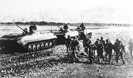 1979 Soviet invasion of Afghanistan.