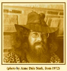 "Jim the Musician in 1972 before helping launch Operation Dismantle in 1977. From a foto by Ann Dale Stark on the cover of his book, ""Songs I Rote."""