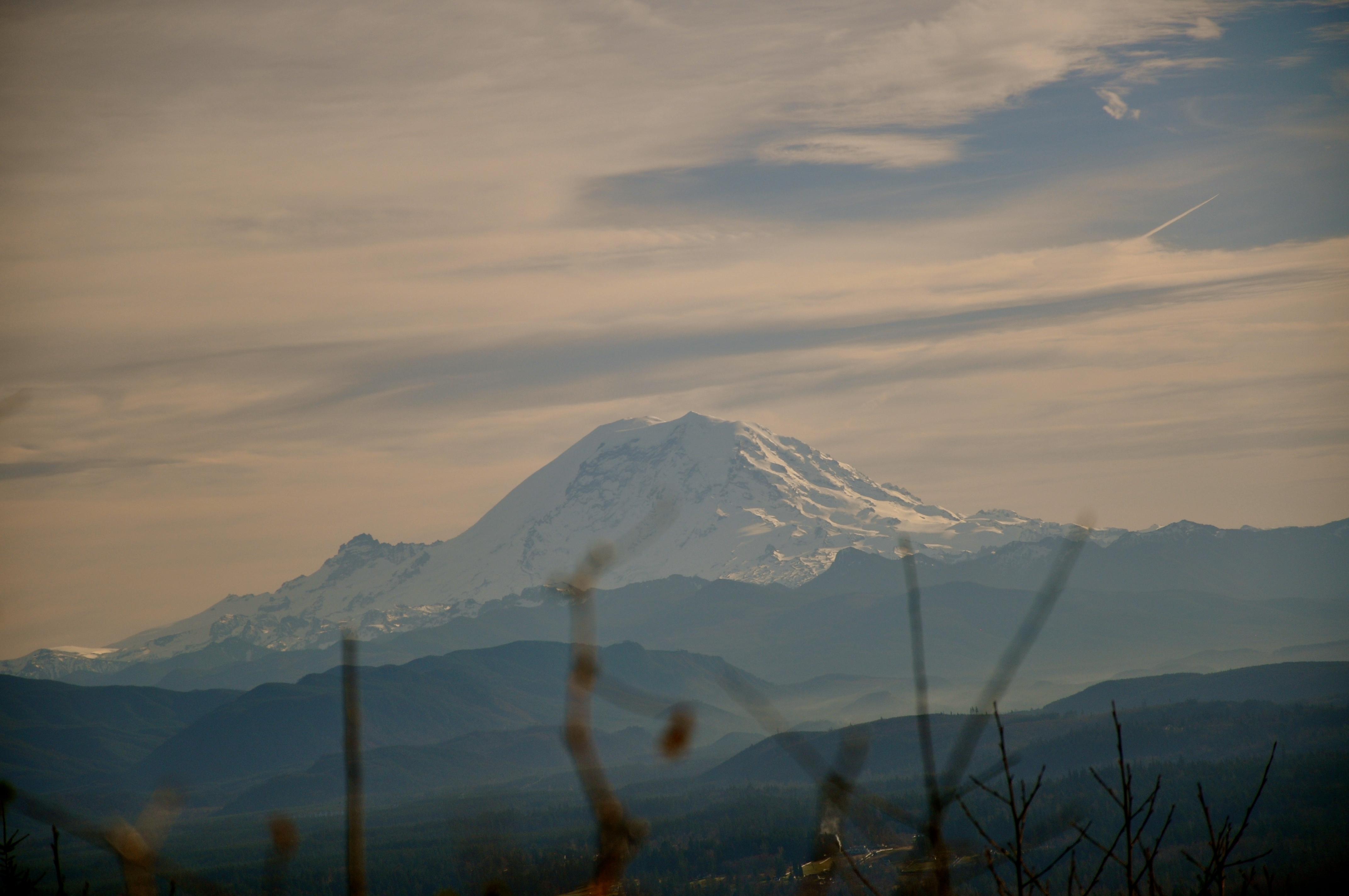 Tahoma/Rainier, at 14,411 feet or 4,392 meters it's Ti'Swaq' the Sky Swiper.