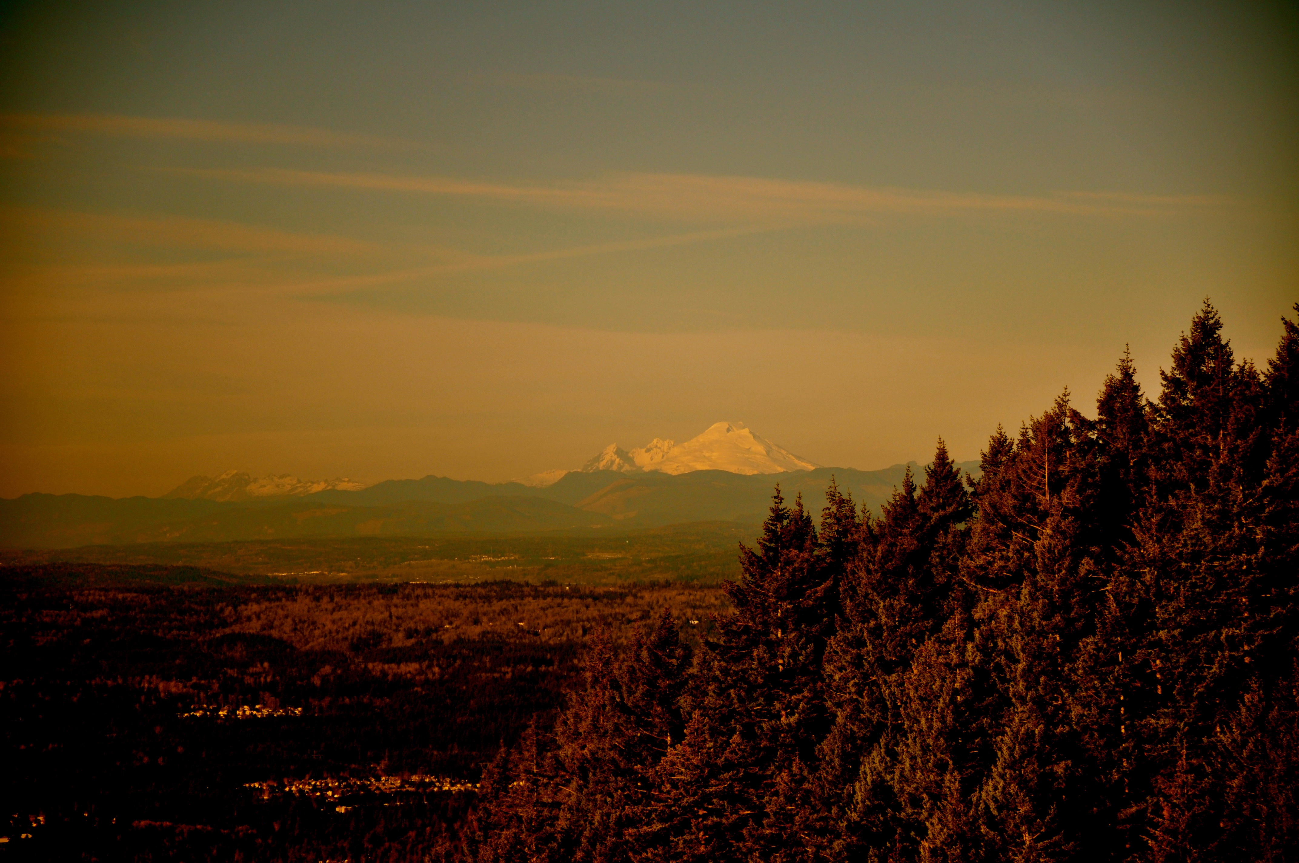 Mt. Baker in the far north. The Native Americans request Kulshan be restored as this mountain's rightful name.